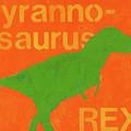 T Rex by Laurie Breen