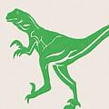T-rex by Linda Woods