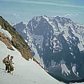 T04402 Beckey And Hieb After Forbidden Peak 1st Ascent by Ed Cooper Photography
