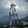 T104800 Ed Cooper On First Climb Pinnacle Peak Wa 1953 by Ed Cooper Photography