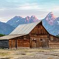 T.a. Moulton Barn Sunrise  by John McGraw
