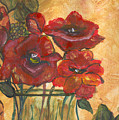 Table Flowers by Pamela Wilson
