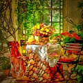 Table For Two In Ambiance by Catherine Lott