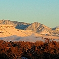 Table Mesa Winter Morning by Merrimon Crawford