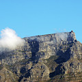 Table Mountain - Still Life With Blue Sky And One Cloud by Harvey Barrison