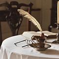 Table Scene by M Kathleen Warren