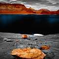 Tabletop Boulder Lake Powell by Tom Fant