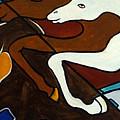Taffy Horses by Valerie Vescovi