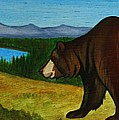 Taggart Lake Bears by Lucy Deane