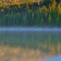 Taggart Lake Triptych Right Panel by Greg Norrell