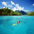 Tahiti, Bora Bora by Ron Dahlquist - Printscapes