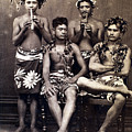 Tahiti: Men, C1890 by Granger