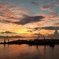 Tahiti Sunset by Csilla Florida