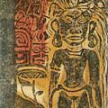 Tahitian Idol by Paul Gauguin