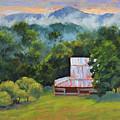 Tahlequah Ridge Morning by Keith Burgess