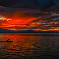 Tahoe Boat Ride by Mitch Shindelbower