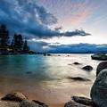 Tahoe Bursting Clouds by Dianne Phelps