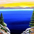 Tahoe Morning by Frank Wilson