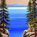 Tahoe Notch by Frank Wilson