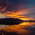 Tahoe Sunset Luminosity by Mike  Herron