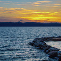 Tahoe Sunset by Terry Davis