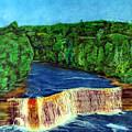 Tahquamenon Falls by Walter Idema