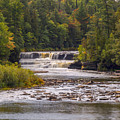 Tahquamenon Lower Falls by Jack R Perry