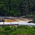 Tahquamenon Lower Falls Upper Peninsula Michigan 04 by Thomas Woolworth