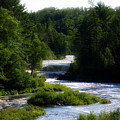 Tahquamenon Lower Falls Upper Peninsula Michigan 12 by Thomas Woolworth