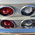 Tail Lights Of A 1966 Chevrolet Corvette Sting Ray 427 Turbo-jet by George Atsametakis