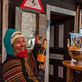 Taimi In Zermatt Switzerland by Brenda Jacobs