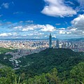 Taipei Panorama by Brian Eberly