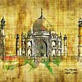 Taj Mahal 2016 by Kathryn Strick