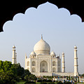 Taj Mahal At Sunrise by Bill Bachmann - Printscapes