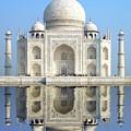 Taj Mahal by Delphimages Photo Creations