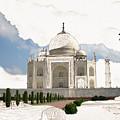 Taj Mahal Dreams Of India by Karla Beatty