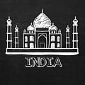 Taj Mahal India by Khushbu