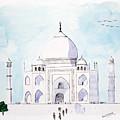 Taj Mahal by Keshava Shukla