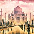 Taj Mahal by Mo T