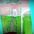 Taj Mahal Noon by Ayyappa Das