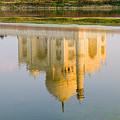 Taj Mahal Reflection by Bill Bachmann - Printscapes