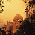 Taj Mahal Sunset by Kyle Rothenborg - Printscapes