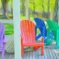 Take A Seat But Don't Take A Chair by Jeffrey Kolker