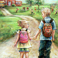Take My Hand Little Sis by Laurie Shanholtzer