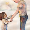 Take My Hand by Maria's Watercolor