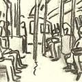 Take The A Train, Nyc by Thor Wickstrom