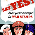 Take Your Change In War Stamps by War Is Hell Store