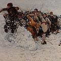 Taking A Snow Town by Vasily Ivanovich Surikov