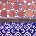 Talavera Tiles Puebla Mexico by John  Mitchell