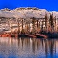 Talbot Lake Afernoon Panorama by Adam Jewell